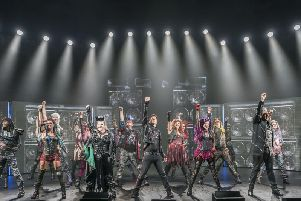 We Will Rock You showing at the Opera House in Blackpool at January 11
