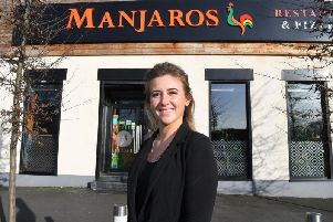 Chantelle Scott who manages Manjaros in London Road