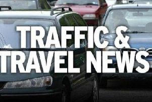 Problems on the M6 Southbound at Bamber Bridge