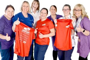 Staff at Lancashire Teaching Hospitals NHS Foundation Trust have participated in a national campaign to support mental health and wellbeing
