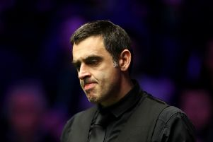Ronnie O'Sullivan will be appearing at the Guild Hall next week (photo: Getty Images)