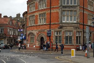 The old Natwest bank in Whitby, the site of a proposed new Fish and Chip restaurant, believed to be Papa's'Jan 2019