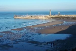 Whitby on a glorious day over half-term. Picture: Duncan Atkins.