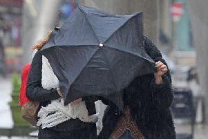 The Met Office has said strong winds are expected from tomorrow