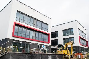 The new complex, costing 8.4 million, will see businesses spread out across three floors