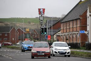 The KFC totem overlooking Buckshaw Village (Images: JPIMedia)