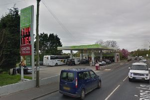 Skippool Service Station in Mains Lane, Poulton (Picture: Google Maps)