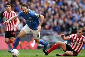 Portsmouth striker Brett Pitman has fired a promotion warning to Sunderland