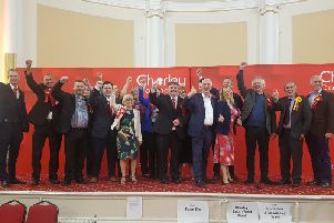 Chorley's victorious Labour group