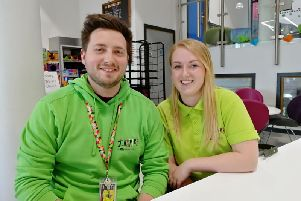 Rob Brooks and Jasmin Thompson say the satisfaction they get from youth work makes the effort worthwhile