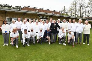 Members of Stewart Bowling Club held a tournament fun day after improvements were made to the clubhouse and green.