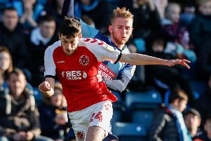 Fleetwood Town striker Ashley Nadesan