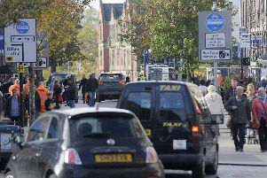 Drivers try to steer clear of the Fishergate bus lane.
