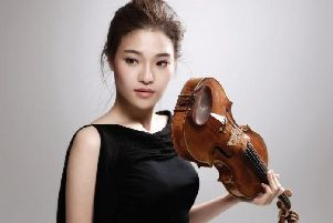 Brilliant violinist Ye-Eun Choi is set to perform with BBC Philharmonic at King Georges Hall, Blackburn on Friday, June 7