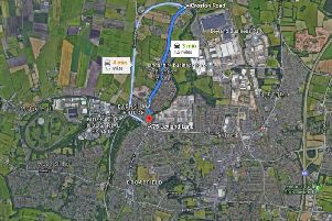 Roadworks are planned for Croston Road and Leyland Lane in Leyland in June.