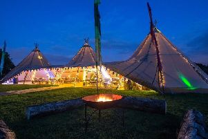The tepee will be in place between May and September