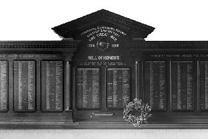 The railway war memorial