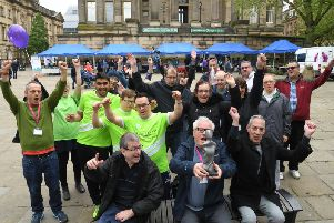 Disability awareness day at Preston Flag Market'The Pat Afflick Award