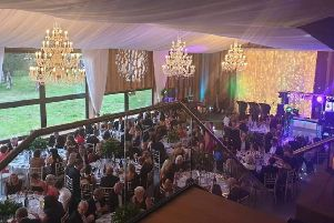 The charity ball at Bunny Hill Barn was a complete sell out.