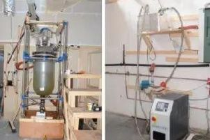 The 'Breaking Bad'-style amphetamine lab in Victoria Mill, Earby, Lancashire