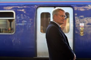 Harrogate and Knaresborough MP Andrew Jones is frustrated at the delay in replacing old Pacer trains.