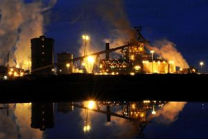 The Redcar steelworks site, which closed in 2015.