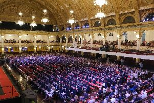 Blackpool and the Fylde College Graduations at The Winter Gardens