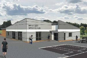 Illustration of the Westway Sports Hub (Chorley Council)