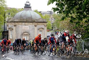 The Harrogate town centre UCI circuit was first used as part of the Tour de Yorkshire event in May.