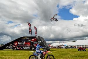 The Bull Dog Lings FMX Team are just one of the attractions at Garstang Show