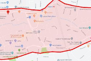 The area covered by the dispersal order.
