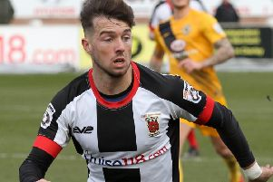 Alex Newby scored the Magpies' goal
