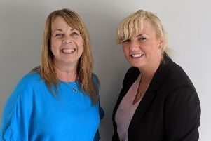 Fleetwood Trust project manager, Bev Lucas (left) with fundraising manager, Kelly Garrick.