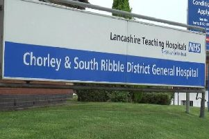 What are the options for the future of Chorley and South Ribble Hospital?