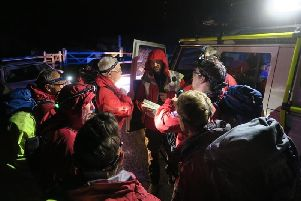 Bolton Mountain Rescue Team getting ready to search for the missing siblings (Photo: Bolton Mountain Rescue Team)