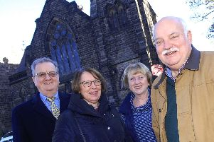 Church's key role in UCI championships - The team at the West Park United Reformed Church in Harrogate.