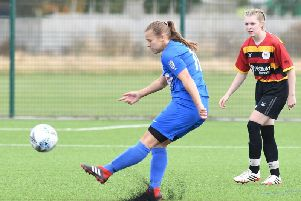 Amy Ward scored twice for Rovers