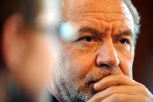 Sir Alan Sugar. Credit: PA/Owen Humphreys