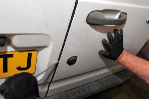 It is important to remove tools from work vehicles