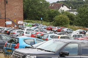 Free car parking is being offered