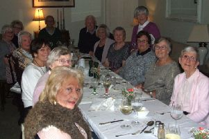 Class of 1945 indulge in an enjoyable recollection of their school days