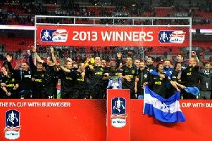 Latics win the FA Cup in 2013