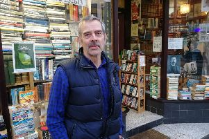 Michael Halewood - fifth generation bookseller