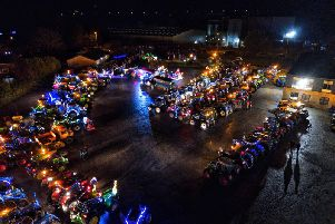 Bumper turnout! Photo by Stephen Peters Aerial Photography