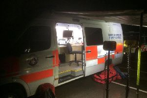 Mountain rescuers' technology to search the missing walkers. Picture by BPMRT