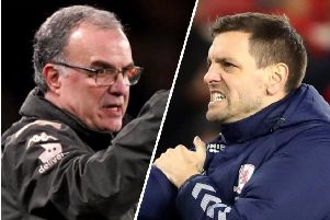 HEAD-TO-HEAD: Marcelo Bielsa, left and Jonathan Woodgate are up for the Manager of the Month award for December. will