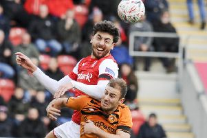 herbie kane: Made his debut for Hull City in their FA Cup victory over Rotherham United last week. (Picture: Dean Atkins)