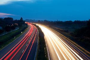 Parts of the M65 will be closed this weekend
