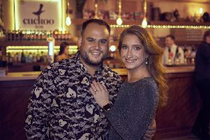 Liz and Mark Long pictured at the fundraising event for the Jo's Cervical Cancer Trust charity