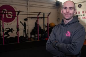 Personal trainer Anthony Tibbs, who is the co-founder of FLS Fitness
